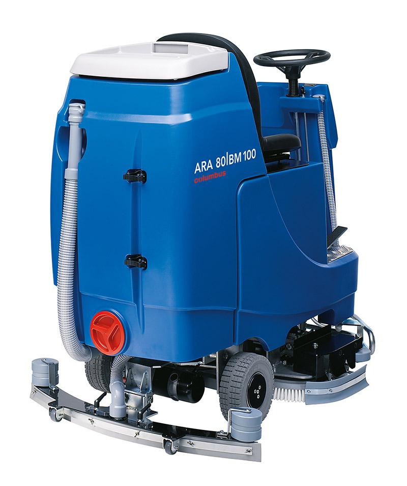 Reinigungsautomat ARA 80|BM 100 hinten rechts