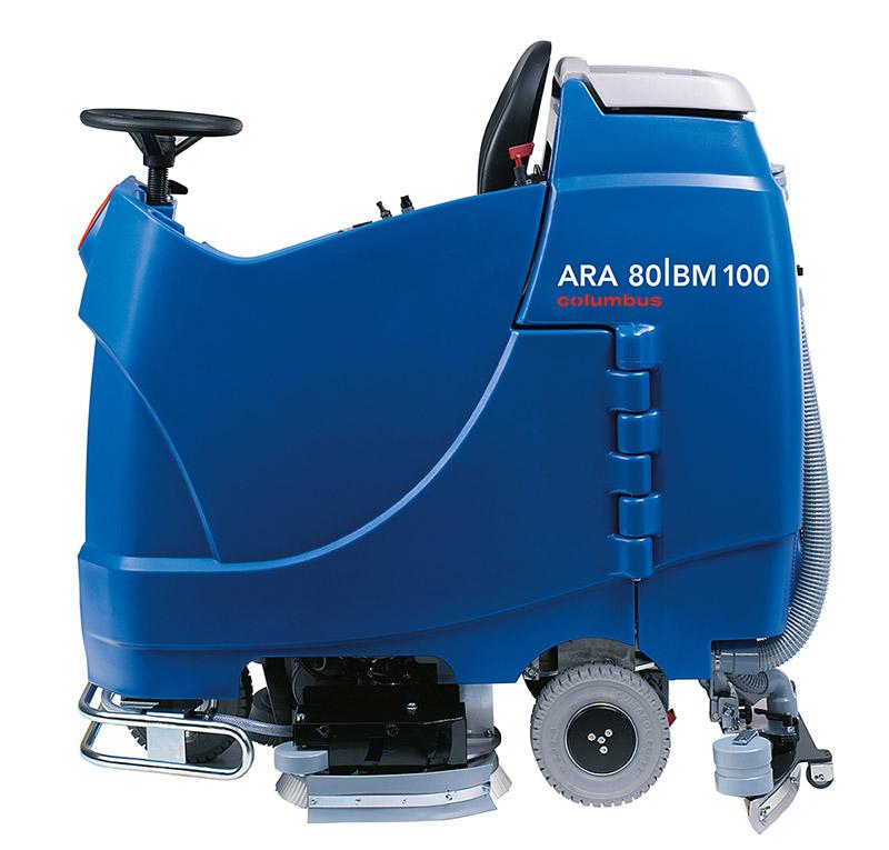 Reinigungsautomat ARA 80|BM 100 linke Seite