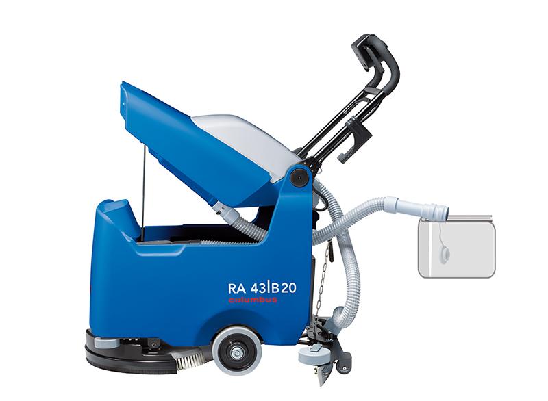 Reinigungsautomat RA 43|B 20 - Entleerung