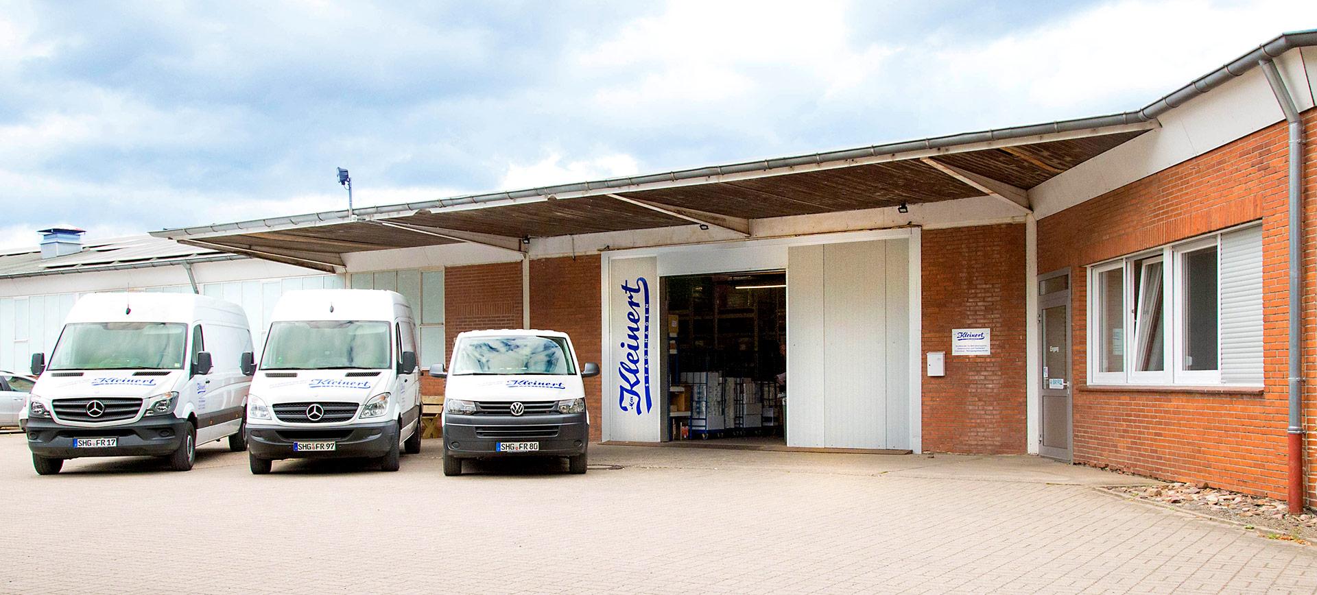 Firmengelände Max Kleinert Stadthagen, Inh. F. Richter